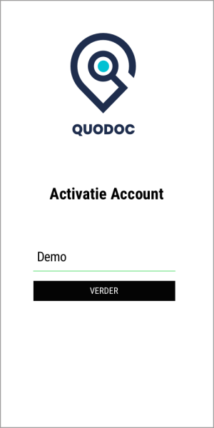 Select a Quodoc account